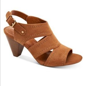 Style & co chestnut sandals